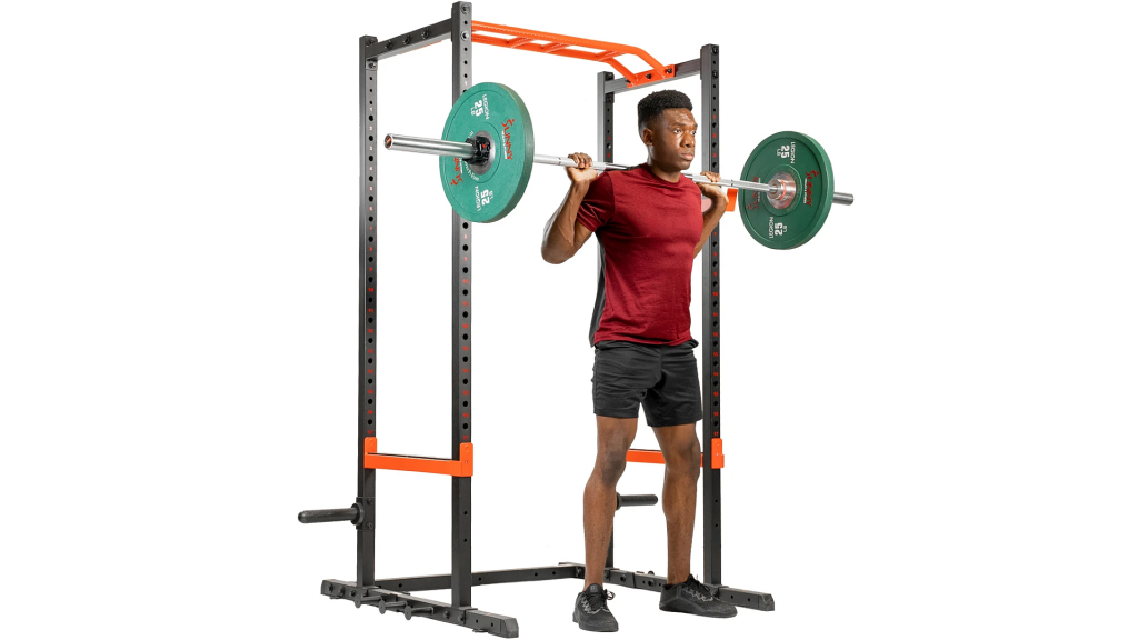 barbell rack cage
