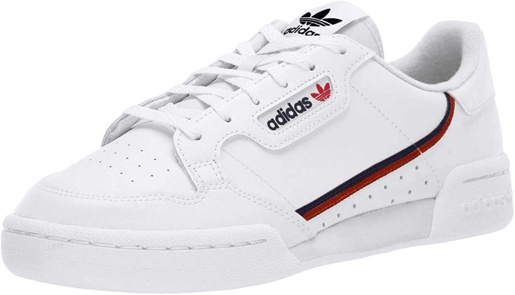 Adidas Continental 80 White Sneakers for Men