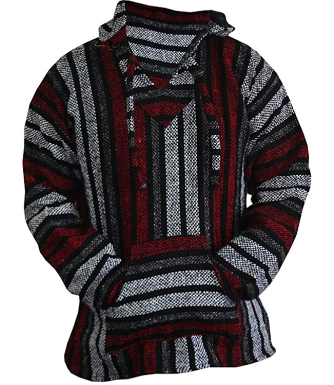 Baja Direct Surf Poncho Pullover Hoodie