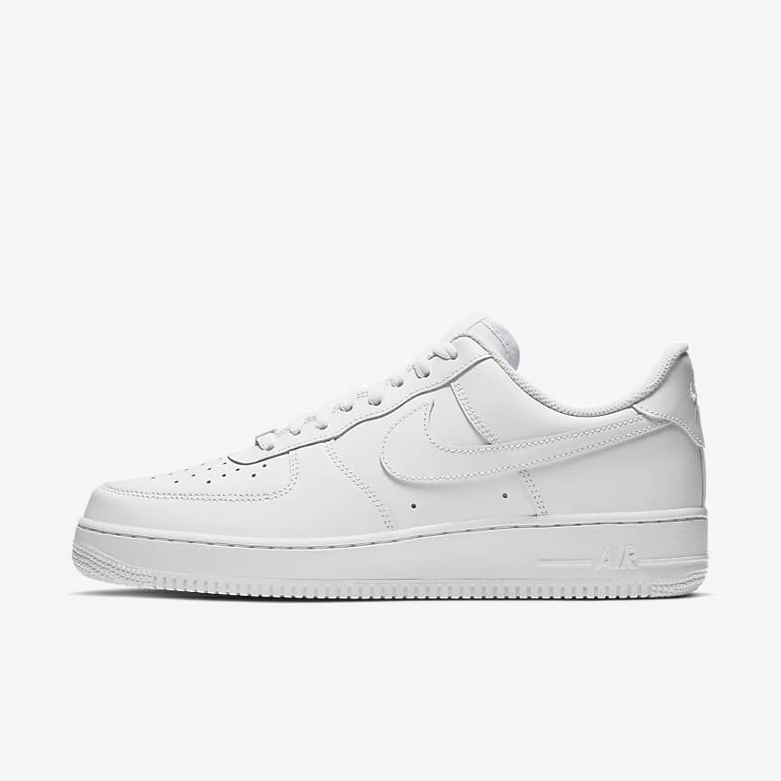 Nike Air Force 1 07 White Sneakers For Men
