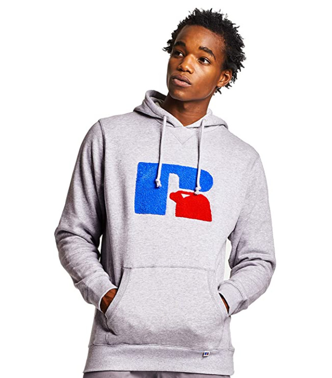 Russell Athletic Heritage Mike Chenille Pullover Hoodie