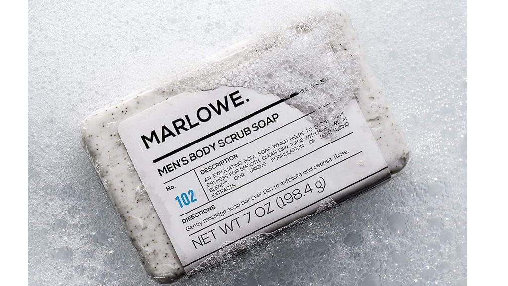mens body soap from marlowe