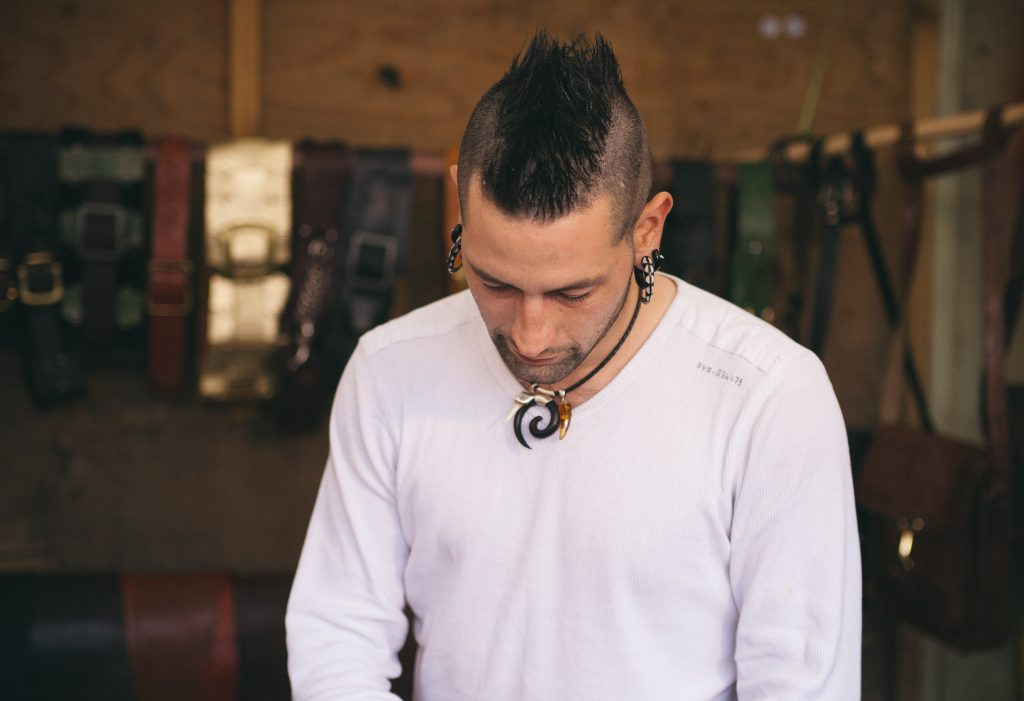 mohawk 80s hairstyle for guys
