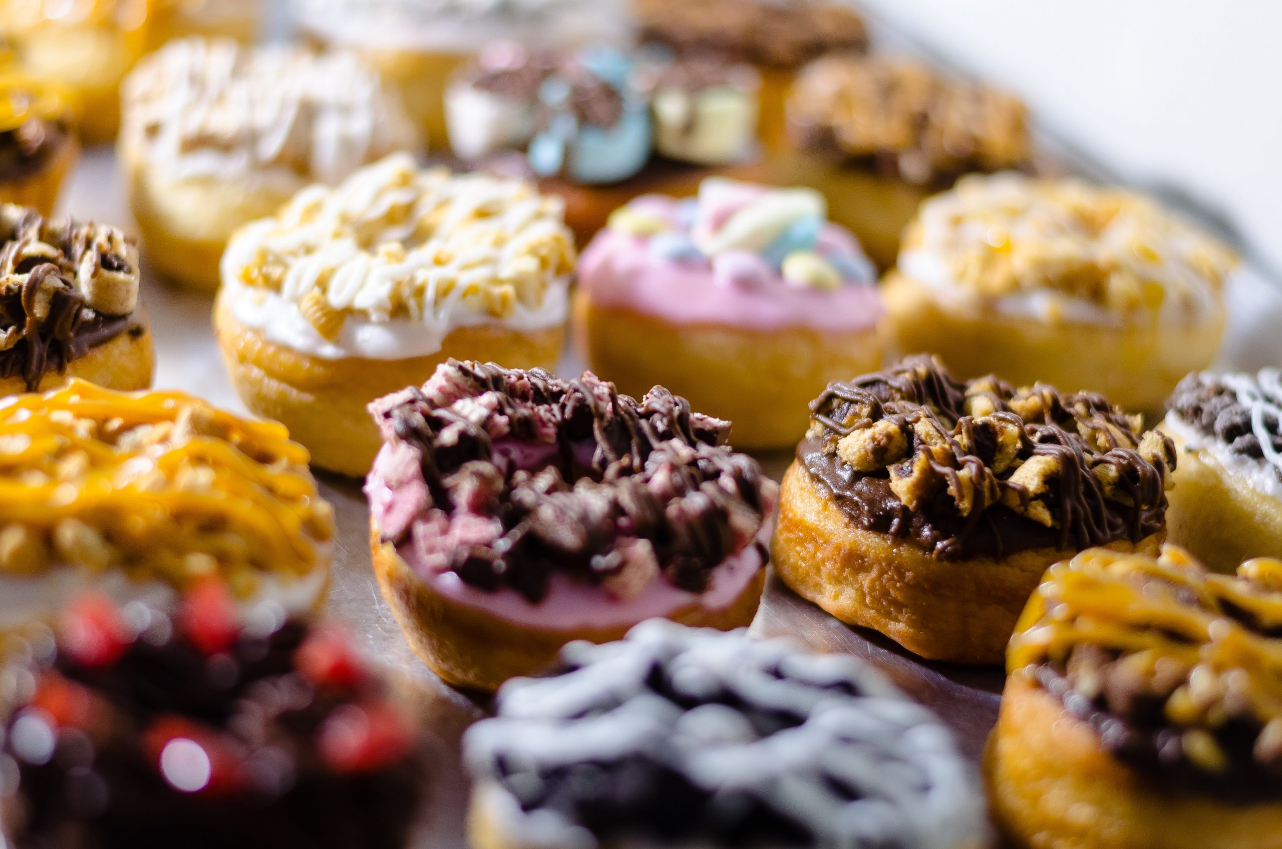 sweet donuts that won't reduce man chest