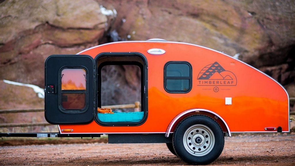 teardrop trailer for sale with kitchen
