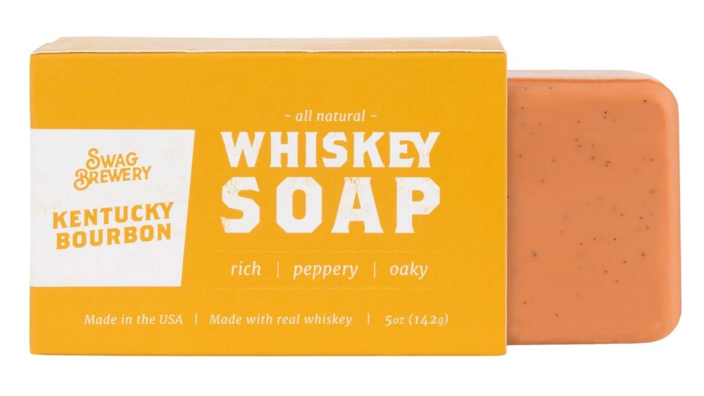 Swag Brewery whiskey soap