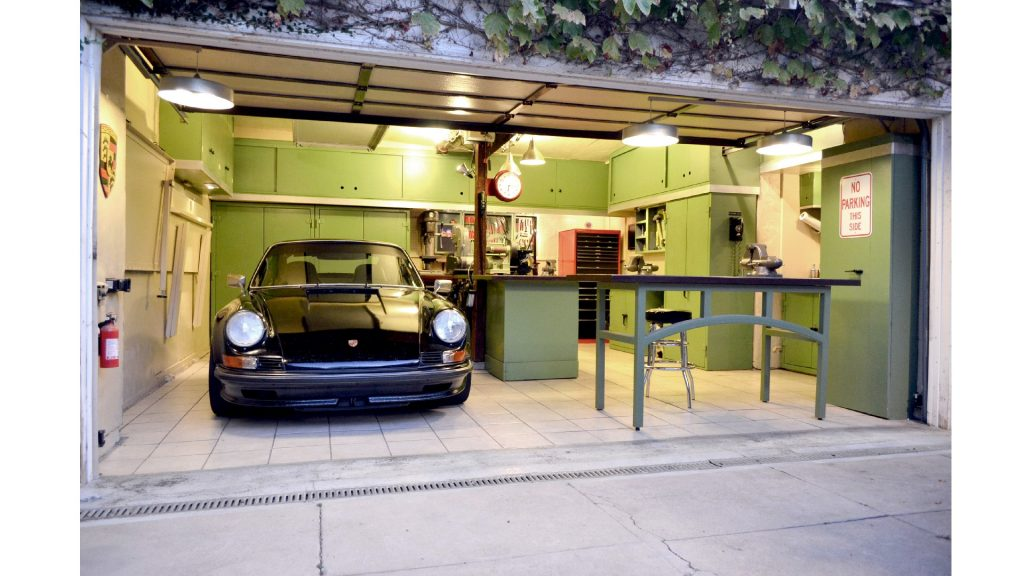garage man cave for car lovers