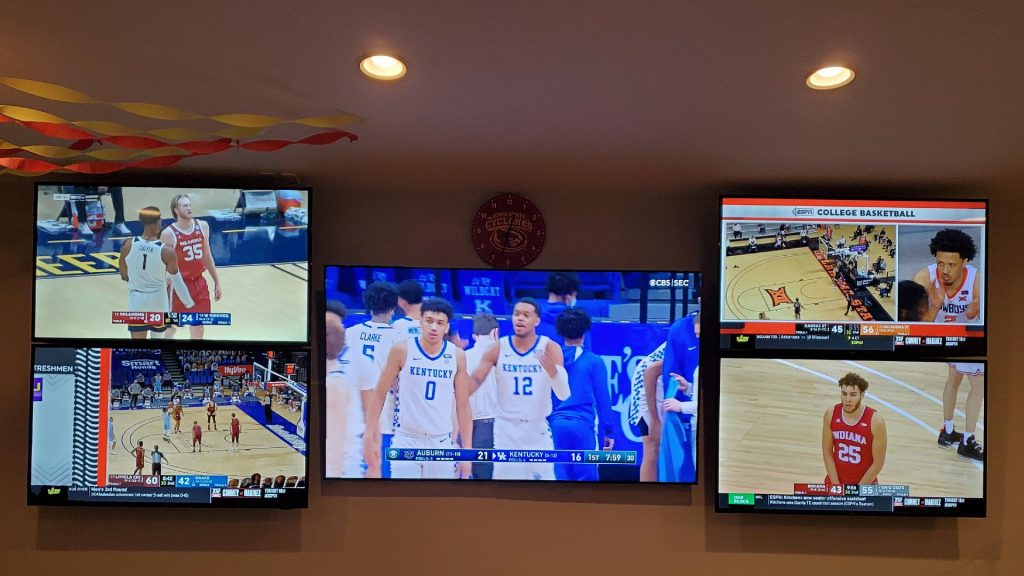 best man cave ideas for sports fans